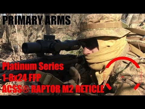 PA Platinum Series 1-8X24 FFP scope Review by Brent0331
