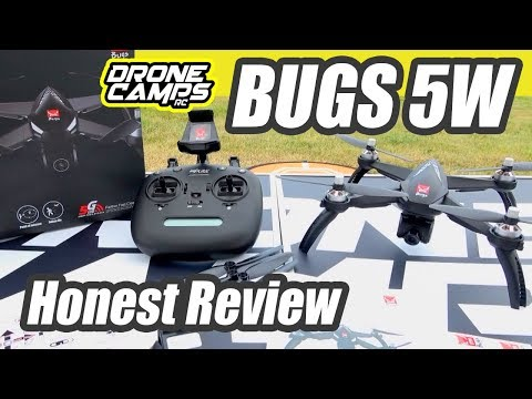 MJX Bugs 5W GPS FPV 1080p Brushless Drone - HONEST REVIEW & FLIGHTS
