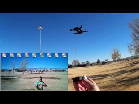 Le Idea Idea8 Position Hold Folding HD Selfie Drone Flight Test Review