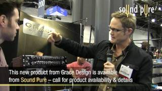 Grace Design Introduces m103 Mic Pre Channel Strip at AES October 2009, NYC