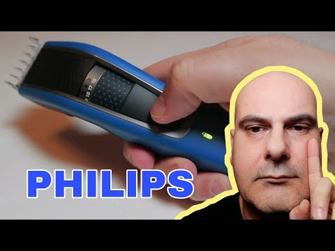 Tagliacapelli e regolabarba Philips HC5612 serie 5000 senza fili e lavabile