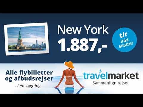 Sammenlign priser på rejser på travelmarket.dk