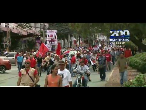 LIBRE realizará protestas este 15 de septiembre