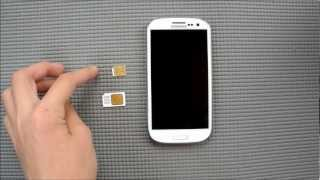 s3 sim karte Handymovie: Samsung Galaxy S3  Akku/Sim Wechsel   YouTube