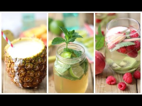 Healthy Cocktail Drinks for Summer | Collab with the EDGY VEG