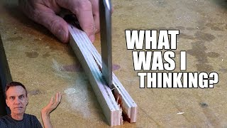 Oops! Don't start over: fixing plywood dado cuts