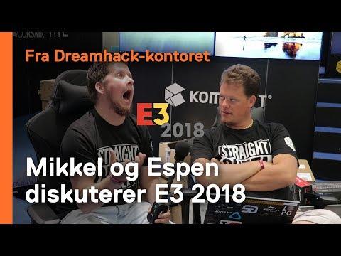Vi har sett E3 og tar en prat om de store nyhetene som ble presentert.