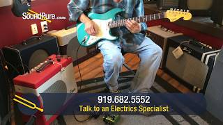 Elliott S Series Ocean Turquoise Electric Guitar - Quick 'n' Dirty