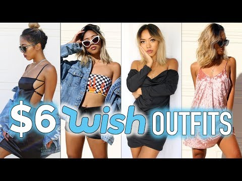 WEARING $6 CLOTHES FROM WISH FOR A WEEK! | Nava Rose