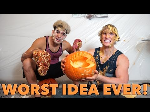 THE SLEEP-SLAP CHALLENGE! (Feat. Alex Wassabi) Check out my daily Vlog channel!  ► https://www.YouTube.com/LoganPaulVlogs Please do NOT try this at home... Alex and I took enough melatonin (sleeping aid) to kill a baby horse then tried to carve pumpkins without yawning. THE LOSER GETS SMACK WITH FOOD!  Check out Alex