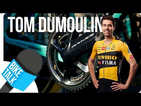 Bike Talk - Tom Dumoulin's Bianchi Oltre XR4   SHIMANO