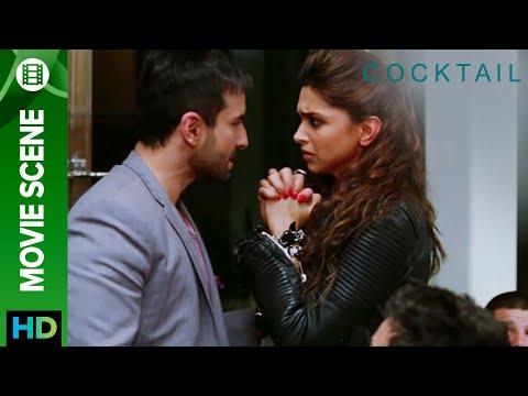 Cocktail - Best Scenes   Saif Ali Khan, Deepika Padukone, Diana Penty, Dimple Kapadia & Boman Irani