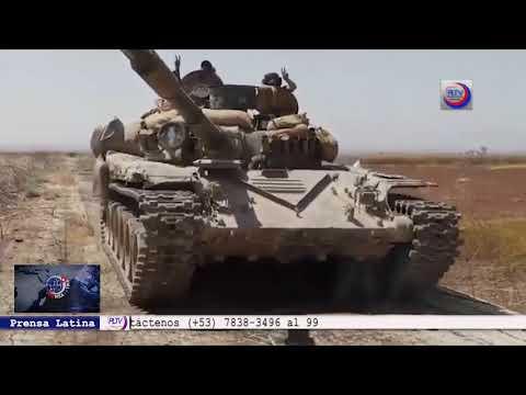 Siria intensifica acciones contra el terrorismo