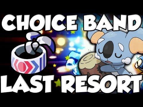 Choice Band + Last Resort Komala SWEEPS!