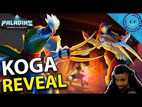 PALADINS KOGA CHAMPION REVEAL - RAYNDAY REACTS - IS KOGA A GOOD MAN?!