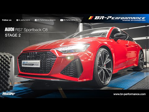 Audi RS7 Sportback C8 / Pops & Bangs By BR-Performance