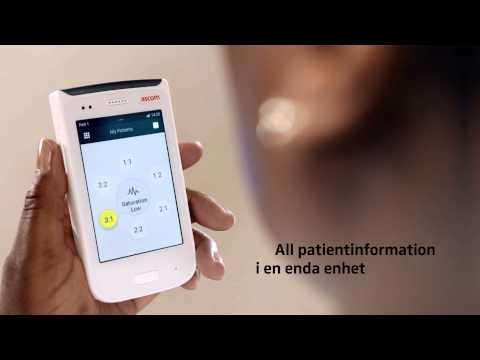 Ascom Myco - en robust smartphone för sjukvården - kortfilm (SE)