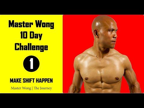 Master Wong | 10 Days Challenge Day 1 | Make Shift Happen