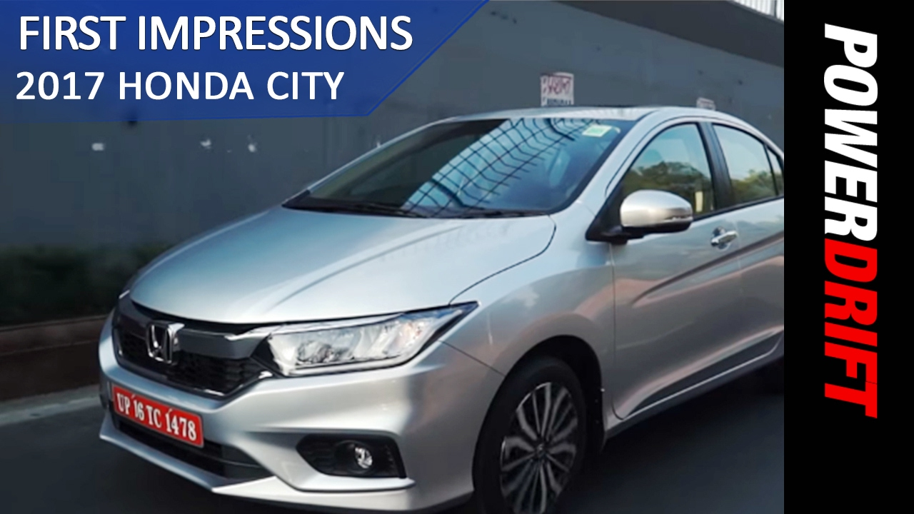 All you need to know : New Honda City 2017 : PowerDrift