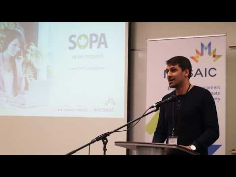 SOPA Alumni Celebration Night: Atif from Pakistan