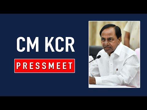 CM KCR Live | CM KCR Press Meet at Yadadri Laxmi Narasimha Swamy Temple | Telangana News | TV5 News