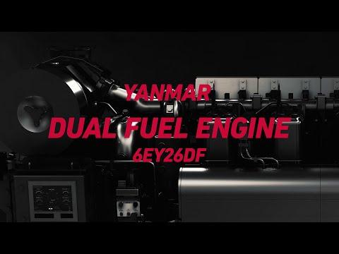 Yanmar Dual Fuel Engine 6EY26DF