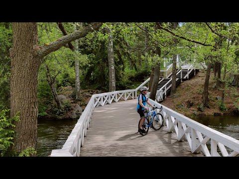 Velogi-videobloggarin pyöräilyvideo Valkeakosken keskustan Riippusiltojen lenkiltä