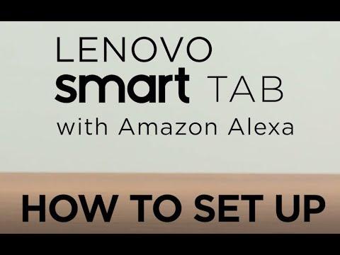 Lenovo Smart Tab with Amazon Alexa – How-To (Set Up)
