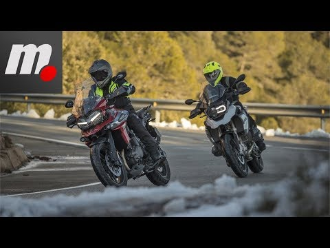 BMW R 1200 GS vs Triumph Tiger 1200 XRT | Comparativo / Review en español | motos.net