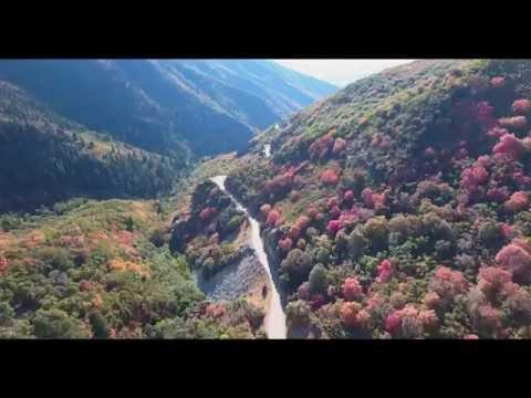 Bountiful Peak via Farmington Canyon drone