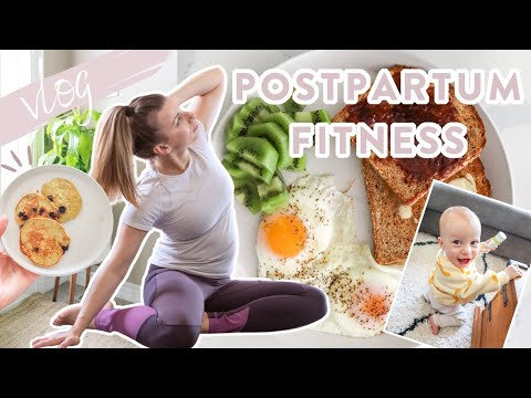 DAY IN THE LIFE   My Postpartum Fitness Journey + Setting Goals!