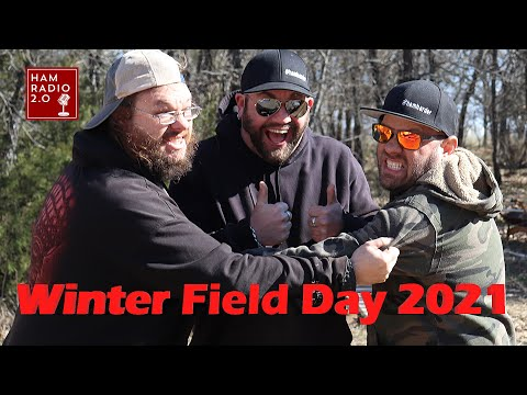 Winter Field Day 2021 with K8MRD, a BuddiHex and a DX Commander