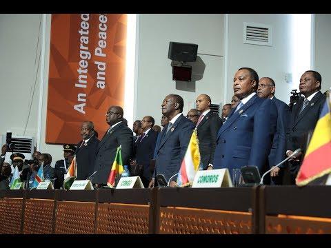 le Président OUATTARA a assisté à la cérémonie d'ouverture du 12° sommet Extraordinaire de l'UA