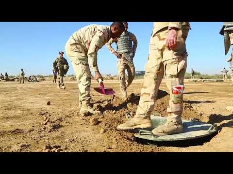 DFN: Mortar course at the Besmaya Range Complex, BESMAYA, IRAQ, 04.01.2018