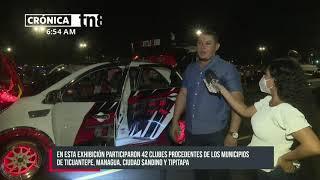 Realizan primera exhibición de autos modificados 2021 - Nicaragua