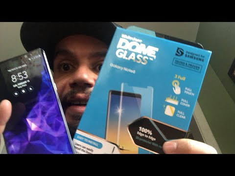 Live stream I just installed my first Whitestone dome glass screen protector! PERFECTION