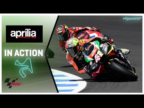 Aprilia in action: Gran Premio Red Bull de España