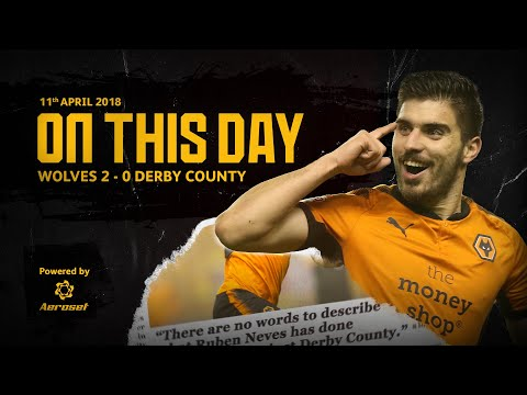 OUR GREATEST EVER GOAL!   Reliving THAT Ruben Neves volley vs Derby