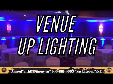 Saskatoon Up Lighting Rentals   Armed With Harmony   Radisson Hotel