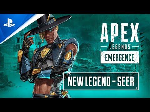 Apex Legends: Emergence - Meet Seer Character Trailer   PS4