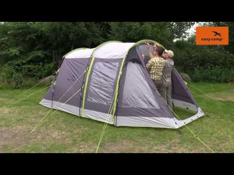 Guide to pitching a family tunnel tent with fibreglass poles  | Just Add People
