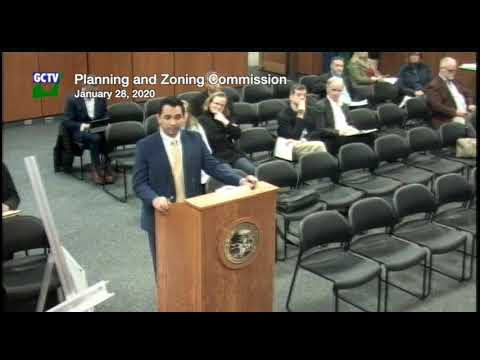 Planning & Zoning Commission, January 28, 2020