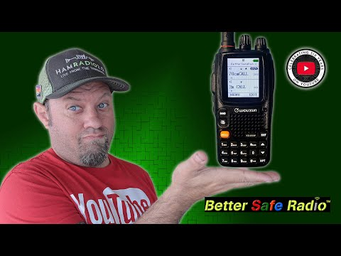 Wouxun KG-UV9P Dual Band Radio and Scanner from Better Safe Radio