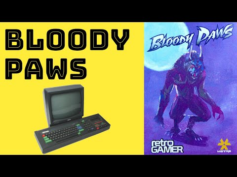 BITeLog 00F8: Bloody Paws (AMSTRAD CPC) LONGPLAY
