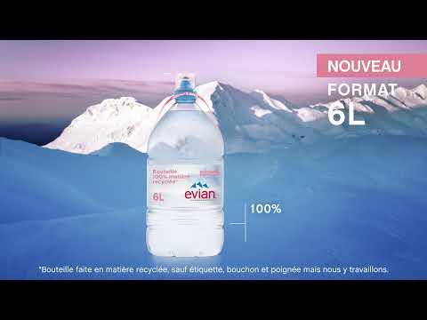 evian Drink True [Source d'authenticité] & Nouveau format 6L