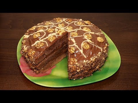 ♨️Очень вкусный Шоколадный Торт ? Простой рецепт Шоколадного Торта в мультиварке | Выпечка рецепты