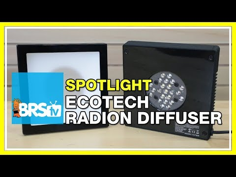 Next generation LED reef tank lighting with EcoTech Radion Diffusers | BRStv Spotlight