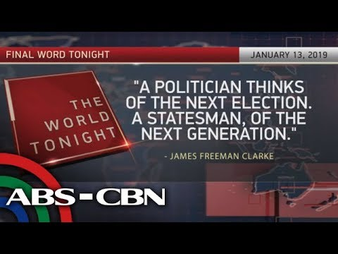 The World Tonight: The Final Word | January 13, 2019
