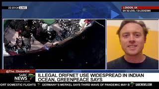 Widespread use of illegal driftnets in the Indian Ocean