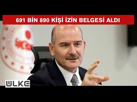 Süleyman Soylu'dan 'çalışma izni belgesi' açıklaması
